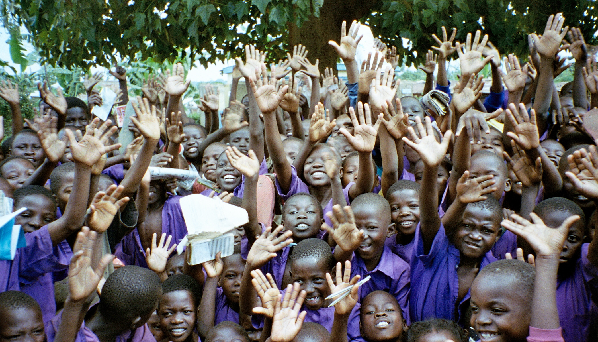 over crowded ugandan school